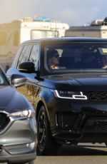 Kaia Gerber And australian actor Jacob Elordi cruising on PCH in Malibu