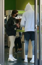 Kaia Gerber and Jacob Elordi after intense workout at Earthbar in West Hollywood