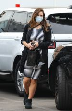 Katharine McPhee Buying jewelry at XIV Karats in Beverly Hills
