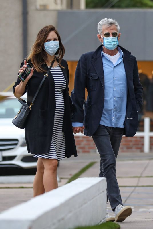 Katharine McPhee Out Shopping with husband in West Hollywood