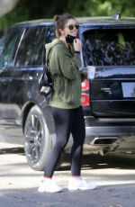 Katherine Schwarzenegger Leaves the baby home while out for a morning walk in Los Angeles