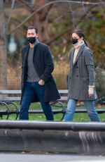 Katie Holmes Heads to a museum for an afternoon date in New York