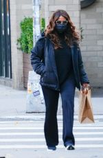 Katie Holmes Shopping for groceries in NYC