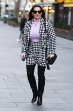 Kelly Brook Pictured arriving at Global Radio Studios in London