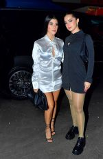 Kourtney Kardashian & Addison Rae out for dinner in NYC