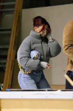Kylie Jenner Shopping at the Balenciaga store on Rodeo drive in Los Angeles,
