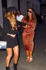 Lauren Goodger At Mark Wright