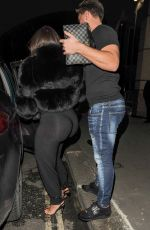 Lauren Goodger Seen in London