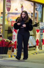 Lauren Goodger Seen leaving a gas station in Chigwell