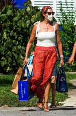 Lauren Silverman Spotted Christmas shopping out on her holidays in Barbados