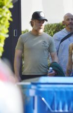 Lena Headey Out with her trainer in West Hollywood