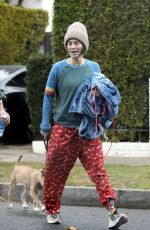 Lena Headey Seen leaving a private gym in West Hollywood