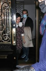 Lily Allen and husband Stranger Things actor, David Harbour, at Scott