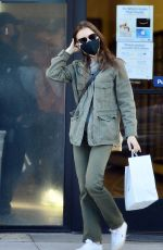 Lily Collins At the post office in Beverly Hills