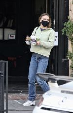 Lily-Rose Depp Shopping in Hollywood