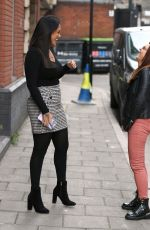 Malin Andersson Shows off her sizzling curves in a casual stylish look pictured out in London