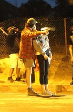 Margaret Qualley & Shia LaBeouf Goes for a hike then caught a glimpse of the Great Conjuction in Pasadena