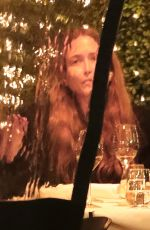Mary-Kate & Ashley Olsen Are seen having dinner together at the Mark Hotel Wednesday evening in New York