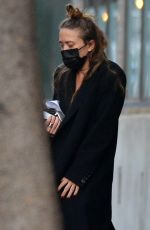 Mary-Kate Olsen Is spotted leaving her office in New York