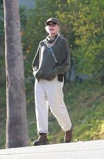 Melanie Griffith Keeps it low key as she enjoys a solo afternoon walk around her neighborhood in Beverly Hills