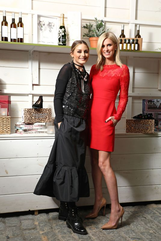 Nicky Hilton Rothschild and Olivia Palermo at the Launch of