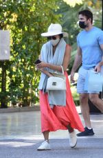 Nicole Scherzinger And beau Thom Evans enjoy a day house shopping in Los Angeles