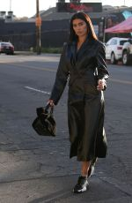 Nicole Williams Spotted heading to the Soho House Hotel in Downtown, Los Angeles
