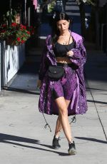 Nicole Williams Stuns in popular work-out-wear Dundas FWRD as she left a Persian Eatery in Los Angeles