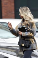 Olivia Attwood Seen leaving a hair salon in Cheshire