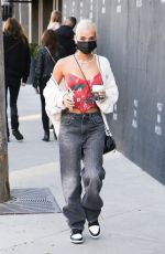 Pia Mia Seen out getting coffee at Urth Caffe in West Hollywood