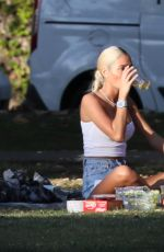 Pia Mia Spending time with her rumored boyfriend Yankee Tyler Wade in Los Angeles