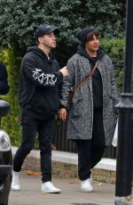 Priyanka Chopra Out for a walk through the streets of London