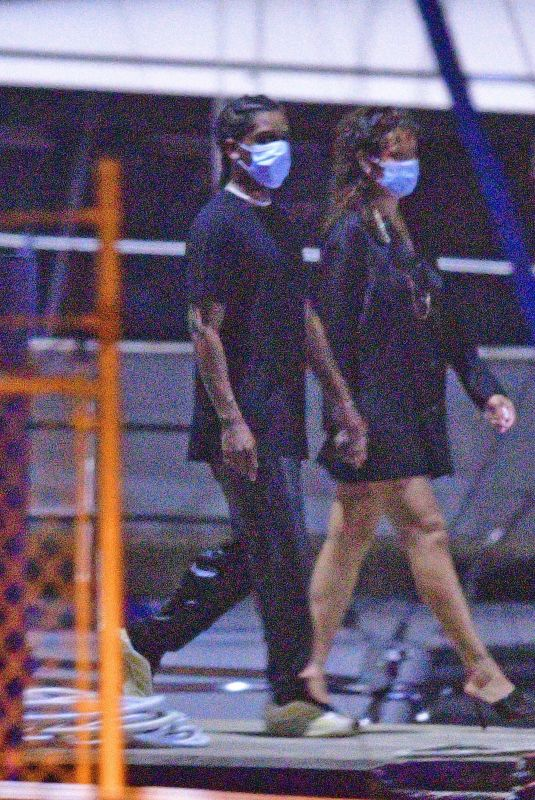 Rihanna & ASAP Rocky Spend their Christmas Eve sailing the seas on a cruise in Barbados