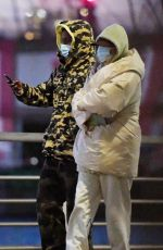 Rihanna & ASAP Rocky Takes a stroll in New York City