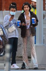 Rowan Blanchard Out in NYC with girlfriend