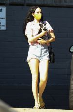 Rumer Willis Visits Healthy Spot pet shop with her puppy in LA