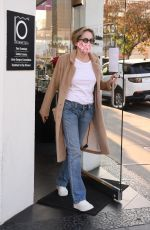 Sharon Stone Goes shopping for sunglasses with her friend at Optometrix in Beverly Hills
