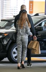 Sofia Vergara Gets some Christmas shopping done at the Westfield Mall in Los Angeles