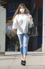 Sofia Vergara Visiting hair removal place in Beverly Hills