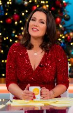 Susanna Reid At Good Morning Britain (GMB) Christmas Special TV Show