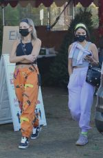 Vanessa Hudgens and GG Magree go shopping for a Christmas tree together