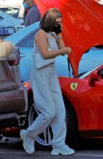 Vanessa Hudgens Running errands with her friend GG Magree in Los Angeles