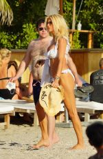 Victoria Silvstedt Seen on vacation in St. Barth, France