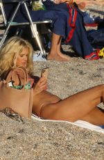 Victoria Silvstedt Seen on vacation in St. Barth in France