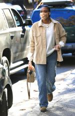 Winnie Harlow Looks casually chic as she makes a quick coffee stop in Los Angeles