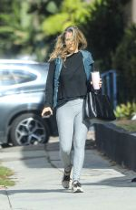 Alicia Silverstone Going to a workout in West Hollywood
