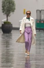 Amanda Holden Pictured at Global Radio in Londo