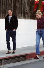 Amber Heard Out in Los Angeles with her girlfriend