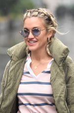 Ashley Roberts Pictured at Global Radio in London