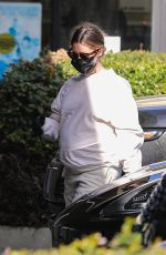 Ashley Tisdale Displays her baby bump while visiting her local CVS Pharmacy in Beverly Hills
